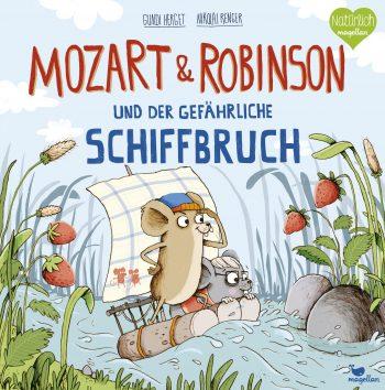 Mozart & Robinson und der gefährliche Schiffbruch Buchcover